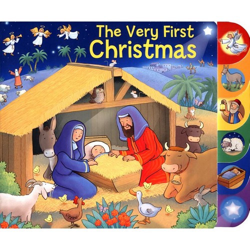 Board Book with Tabs - The Very First Christmas
