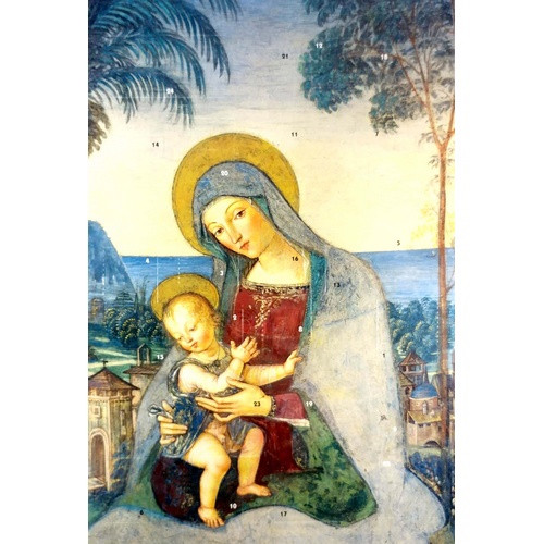 Advent Calendar: Madonna and Child
