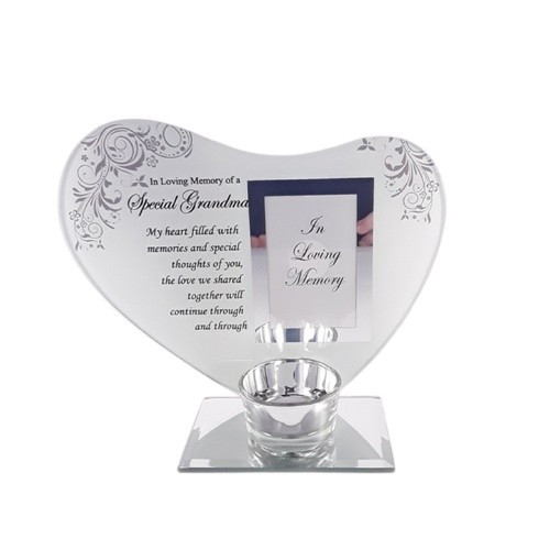 Memorial Heart Candle Holder