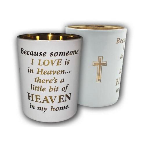Candle & Tea Light Holder: Heaven