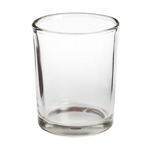 Glass Votive Candle Holder with candle