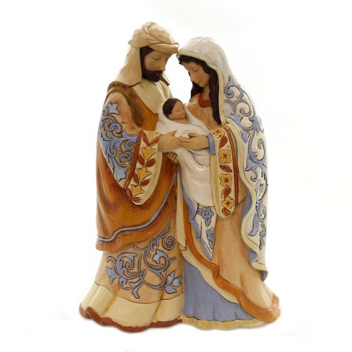 Statue: Blessed Be This Holy Three Holy Family - Jim Shore