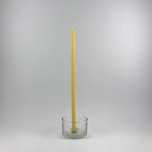 Candle - Beeswax - 7x205mm Bundle of 20