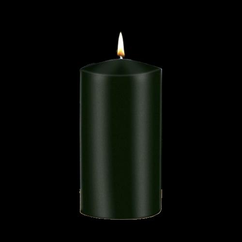 Candle: Pillar Green - 75 x 150mm - Peak Top