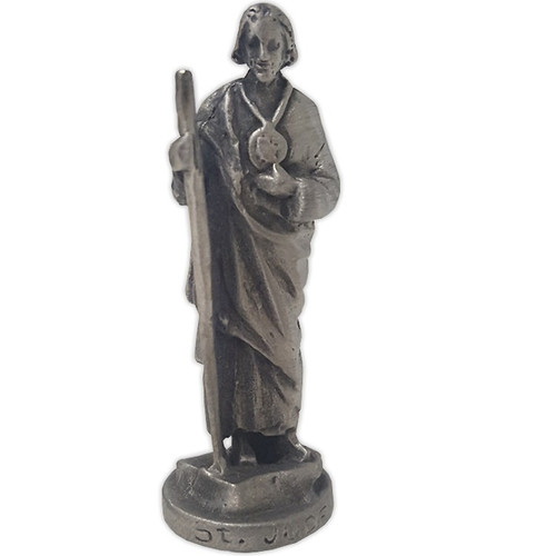 Statuette: Pewter St Jude