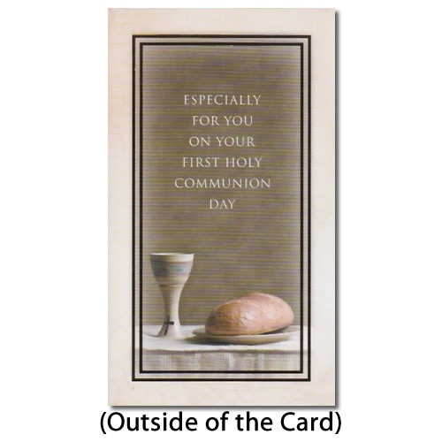 Card: Especially For You ...Communion