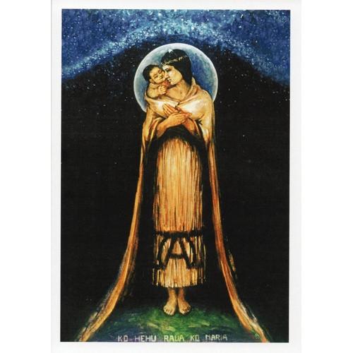 Card: Maori Madonna