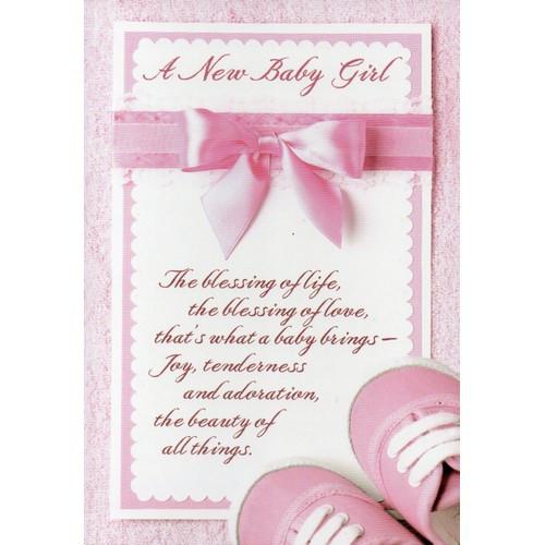 Card: Baby Bundle of Joy - A New Baby Girl