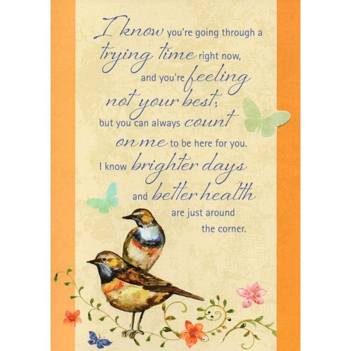 Card: Get Well - Get Well Wishes