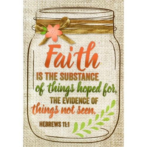 Card: Vintage Thoughts - Faith