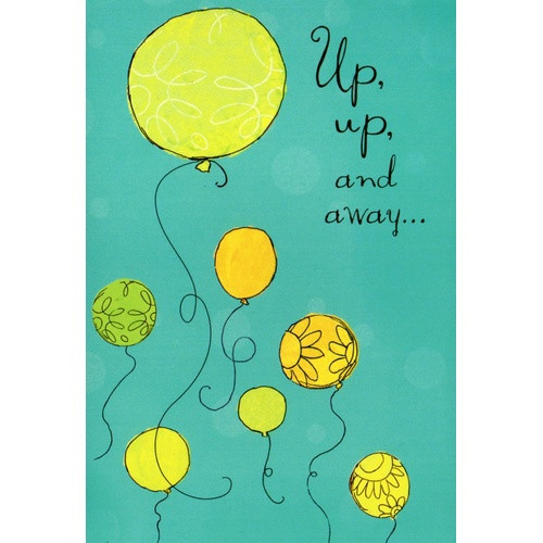 Birthday Card: Up Up And Away