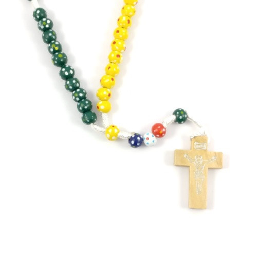 Rosary: Child Wood Multi Coloured