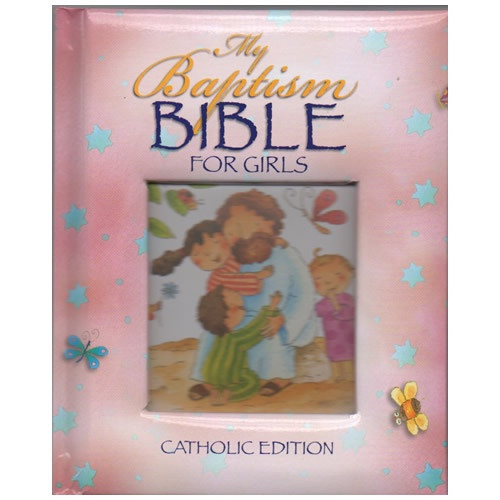 Bible: My Baptism Bible for Girls