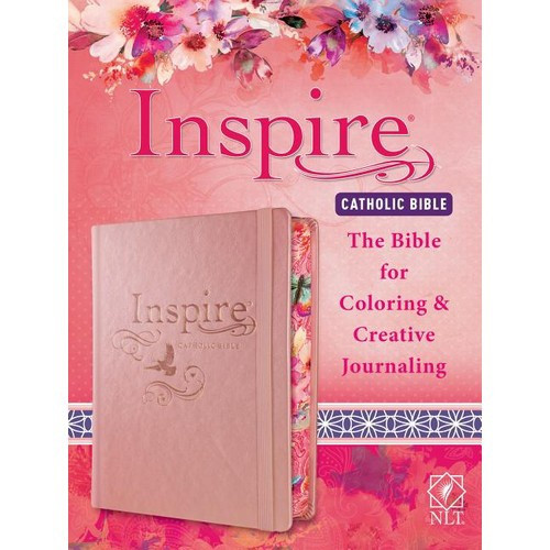 Bible: Catholic NLT - The Bible for Coloring and Creative Journaling