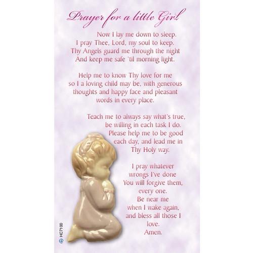 Holy Card: Baby Girl