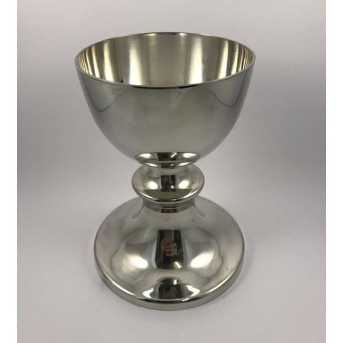 Chalice: Polished Pewter 100mm