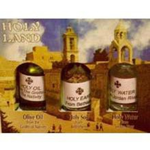 Oil, Water & Incense from Bethlehem