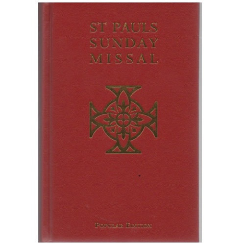 St Paul's Sunday Missal Popular Edition - Red Hardback