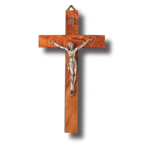 Crucifix: Olive Wood 20cm