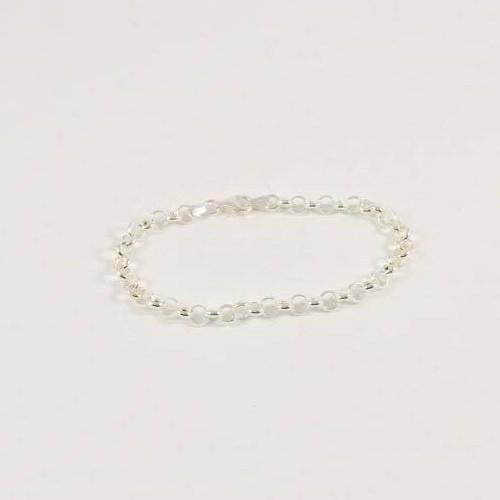 Sterling Silver Belcher Bracelet - Italian