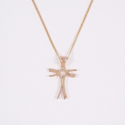 9ct Gold Unset Cross