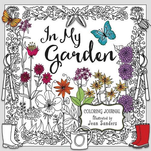 In My Garden Colouring Journal