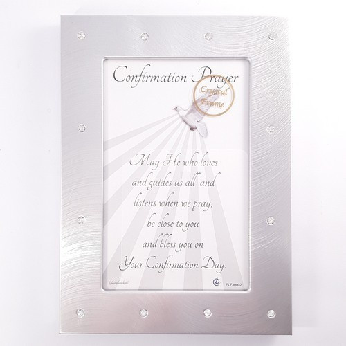Photo Frame: Silver  - Confirmation