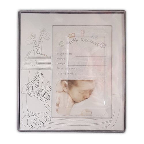 Photo Frame: Baby Birth Record