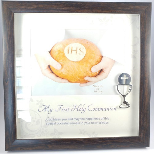 Frame: First Communion Wooden