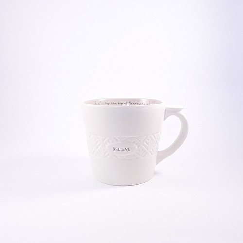 Mug: Believe Textured