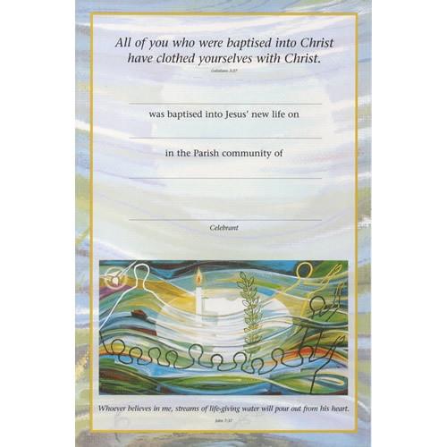 Certificate: Baptism - People Together
