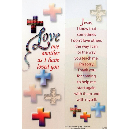 Bookmark: Reconciliation - Love One Another