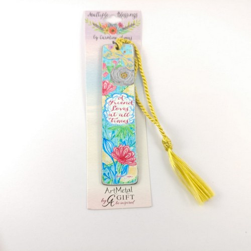 Metal Bookmark: Multiple Blessings - A Friend Loves at All Times