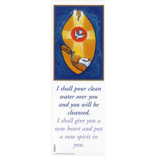 Bookmark: Baptism - Clean Water