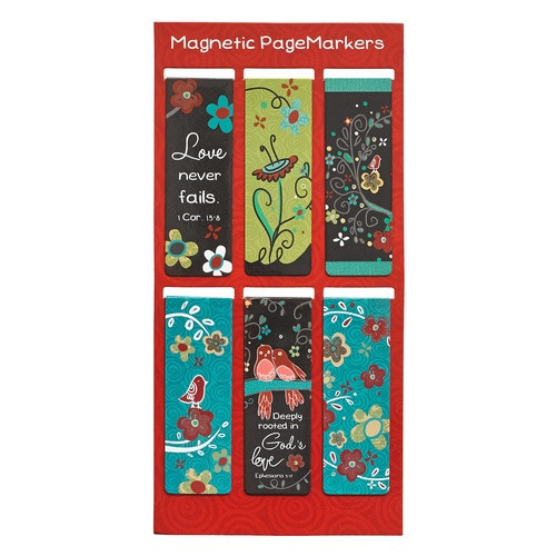Pagemarker Set Magnetic: Love Grows