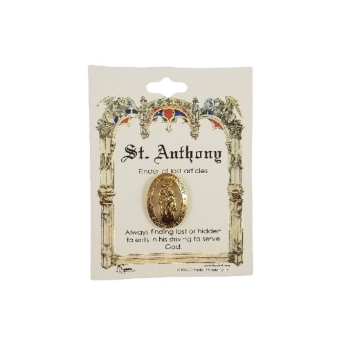 St Anthony Lapel Pin