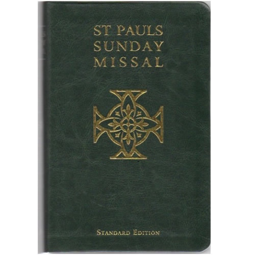 St Paul's Sunday Missal Standard Edition - Green Leatherette