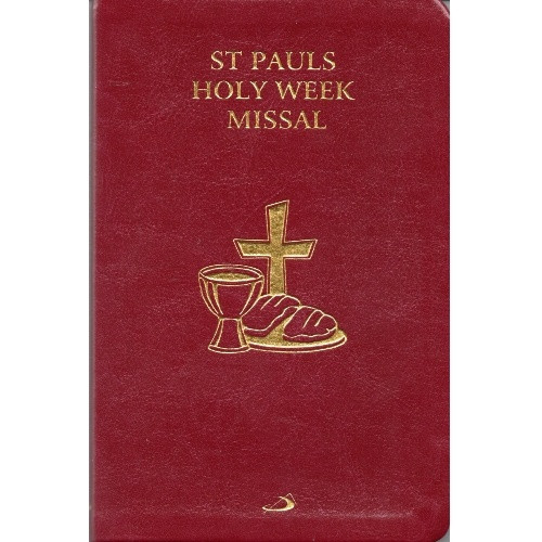 St Paul's Holy Week Missal - Leatherette