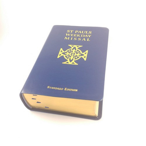St Paul's Weekday Missal Standard Edition - Blue Leatherette