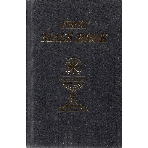 My First Mass Book - Black Hardcover