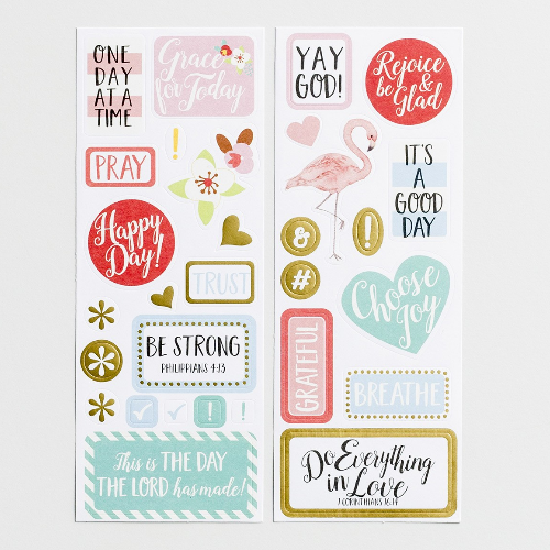 Planner Stickers:  Grace for Today