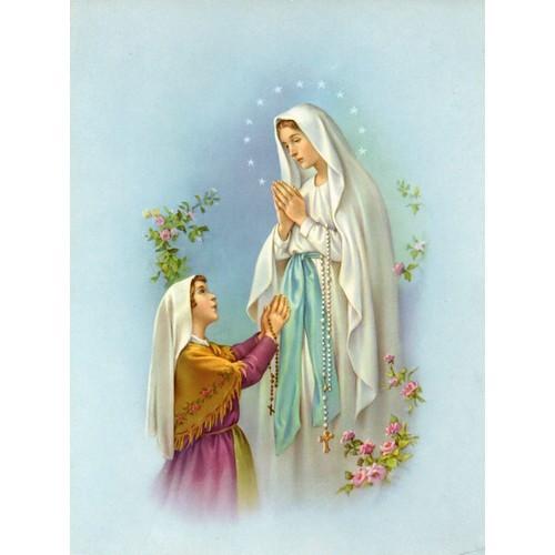 Print: Our Lady of Lourdes - 15cm x 20cm