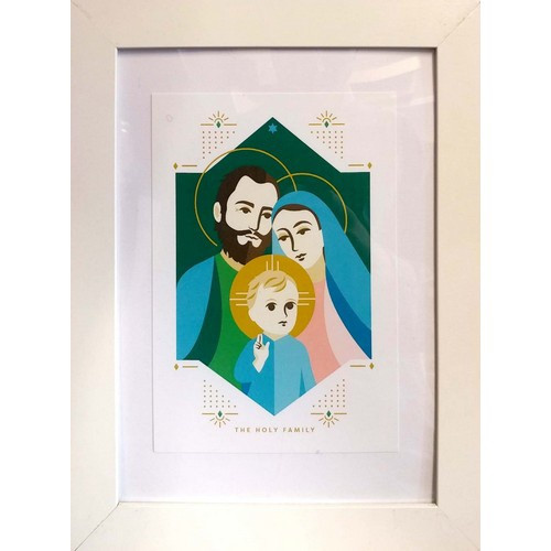 Framed Print: The Holy Family