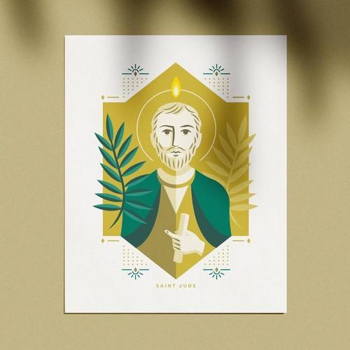 Print: St. Jude Thaddeus