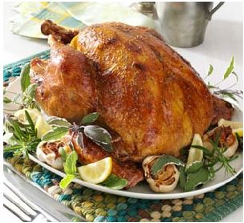 Roasted Garlic Turkey