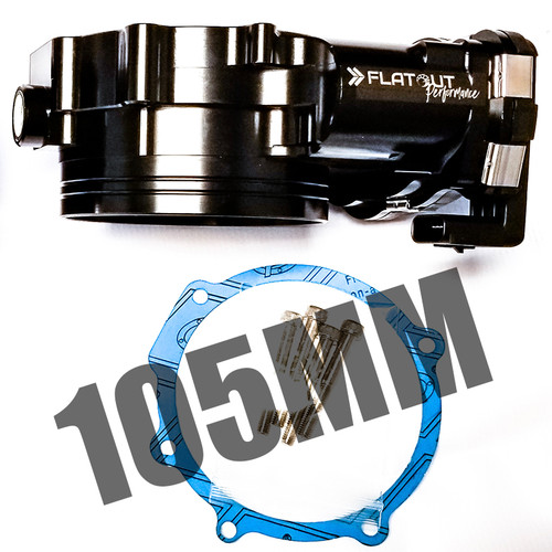 Flat Out Performance 105mm Throttle Body