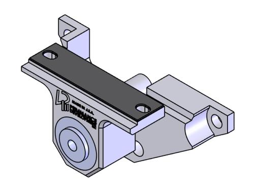 DIRS-J Rear Differential Brace - Trackhawk