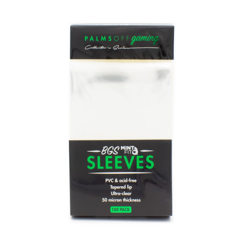 BGS Mint-Fit Sleeves Regular 100pc