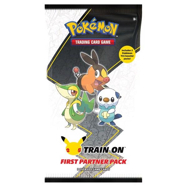 Pokemon 25th Anniversary First Partner Pack Unova