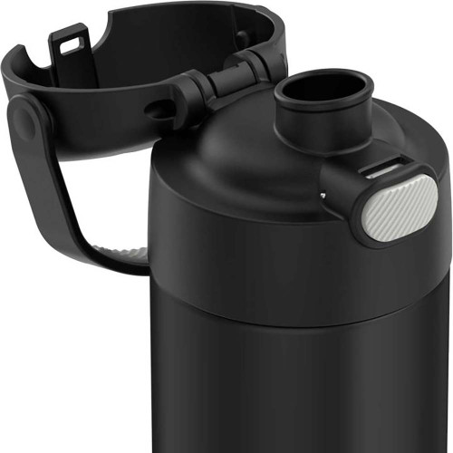 Thermos FUNtainer 16oz Vacuum-Insulated Stainless Steel - Matte Black [F41101BK6]